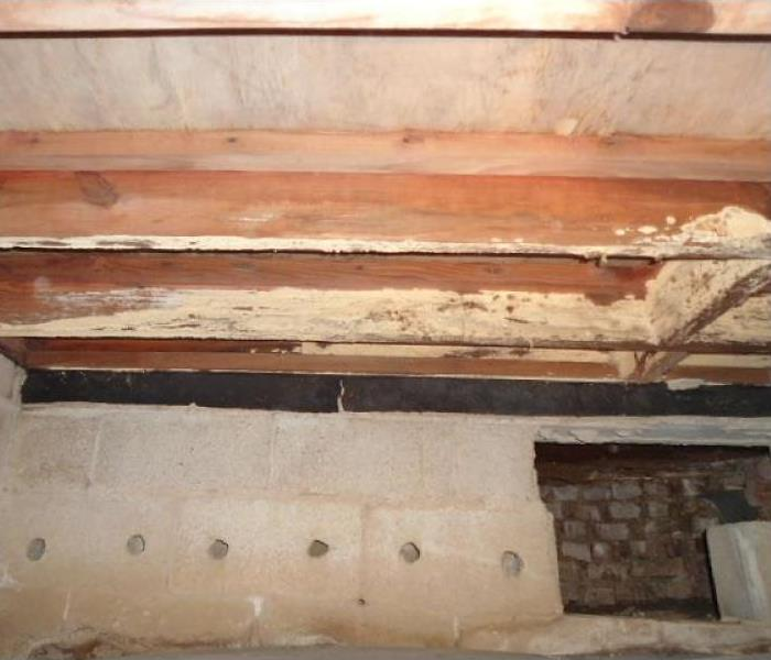 Crawlspace Needing Mold Remediation After