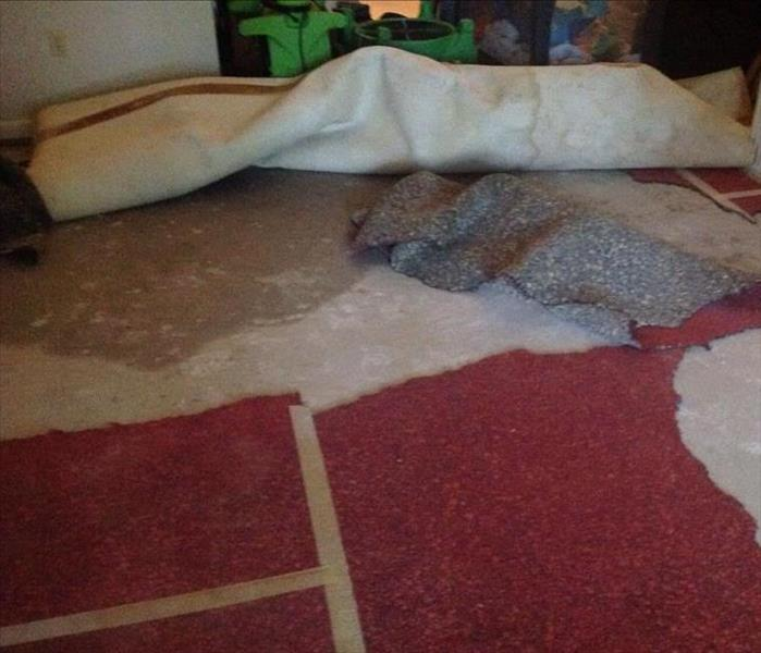 Broken Pipe Floods Home