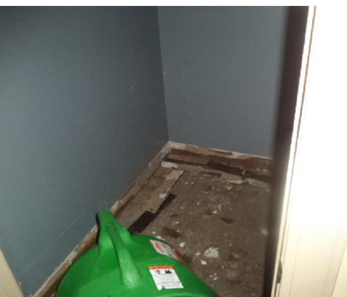 Mold In The Closet